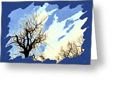 Essence Of Winter Greeting Card