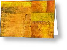 Essence Of Yellow Greeting Card