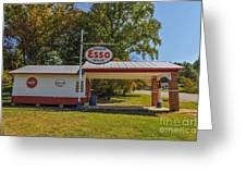 Esso Dealer Greeting Card