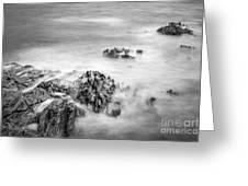 Estacas Beach Galicia Spain Greeting Card