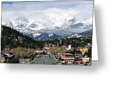 Estes Park In The Spring Greeting Card by Tranquil Light  Photography