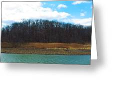Estuary In Early Spring Greeting Card