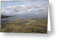 Estuary Of The Seudre, La Tremblade Greeting Card