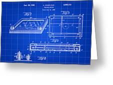 Etch A Sketch Patent 1959 - Blue Greeting Card