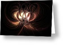 Etched Bloom Greeting Card