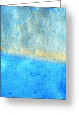 Eternal Blue - Blue Abstract Art By Sharon Cummings Greeting Card