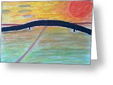 Eternal Bridge Greeting Card