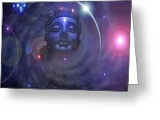 Eternal Buddha Greeting Card