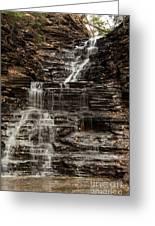 Eternal Flame Waterfalls Greeting Card