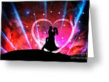 Eternal Love Greeting Card by Phill Petrovic