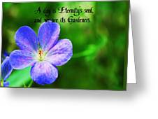 Eternity's Seed Greeting Card