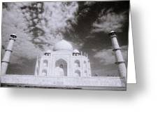 Ethereal Taj Mahal Greeting Card