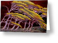 Ethereal Winds Greeting Card