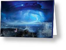 Etherstorm Greeting Card