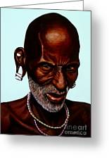 Ethiopian Elder 2 Greeting Card