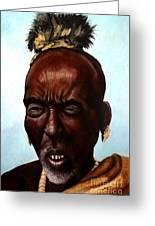 Ethiopian Elder 3 Greeting Card