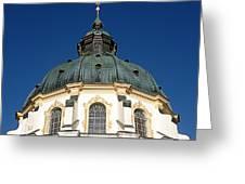 Ettal Abbey Bavaria Greeting Card