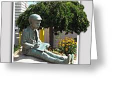 Eugene Gladstone O'neill Greeting Card