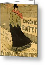 Eugenie Buffet Poster Greeting Card