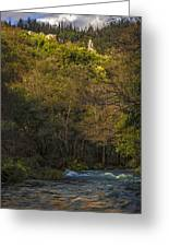 Eume River Galicia Spain Greeting Card