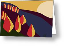 European Landscape Greeting Card