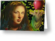 Eve And The Apple Greeting Card