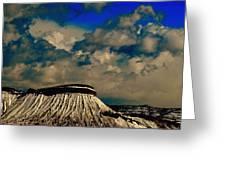Eve On Mt. Garfield Greeting Card