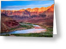 Evening At Cardenas Greeting Card by Inge Johnsson
