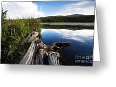 Evening At Red Rock Lake Greeting Card