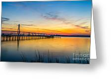 Evening Color Greeting Card