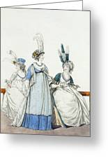 Evening Dresses For The Opera Greeting Card