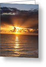 Evening Glow Greeting Card