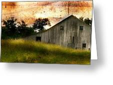 Evening Light Over Taylor Farm Greeting Card