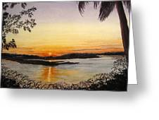 Evening Marsh Greeting Card