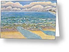 Evening North Myrtle Beach Greeting Card