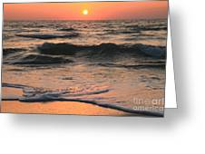 Evening Pastels Greeting Card
