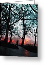 Evening Rain Photofresco Greeting Card