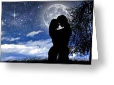 Evening Romance Greeting Card