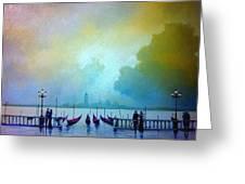 Evening Romance - Venice Greeting Card