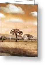 Evening Showers Greeting Card