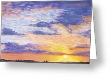 Evening Sky Greeting Card