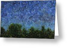Evening Star - Square Greeting Card