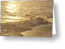 Evening Sun Hive Beach Three Greeting Card