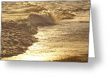 Evening Sun Hive Beach Two Greeting Card