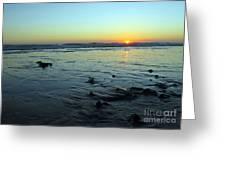 Evening Sunset Greeting Card