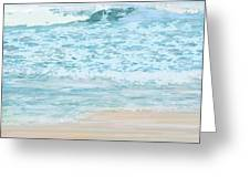 Evening Surf Greeting Card