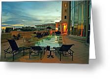 Evening Swim Greeting Card