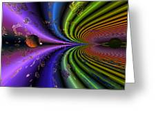 Event Horizon Greeting Card by Claude McCoy