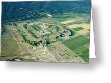 Ever-expanding Driggs, Idaho. Teton Greeting Card