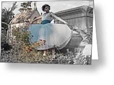 Ever Seen An Alice With A Blossom Like That Greeting Card